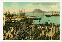 Santification of the waters at the port